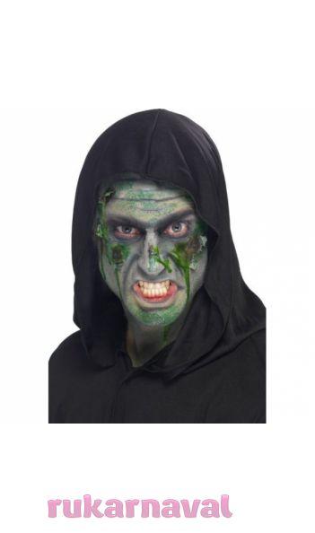 Зелёный грим для нежити - купить по цене 330 руб. в интернет-магазине Рукарнавал