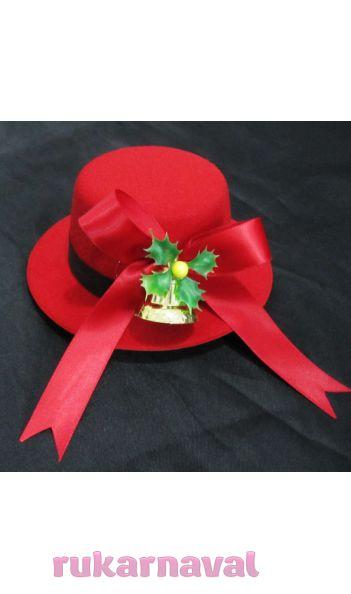 Новогодние шляпки своими руками 13